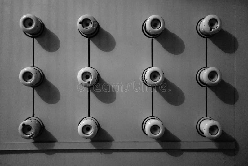 Εκλεκτής ποιότητας κεραμικές θρυαλλίδες βουλωμάτων στοκ φωτογραφία με δικαίωμα ελεύθερης χρήσης