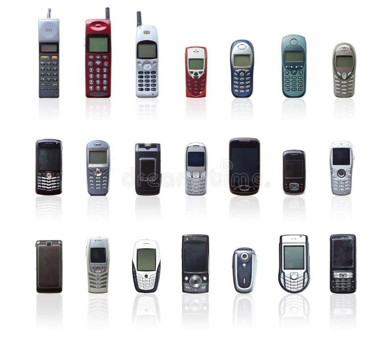 Εκλεκτής ποιότητας κινητή συλλογή στοκ φωτογραφία με δικαίωμα ελεύθερης χρήσης