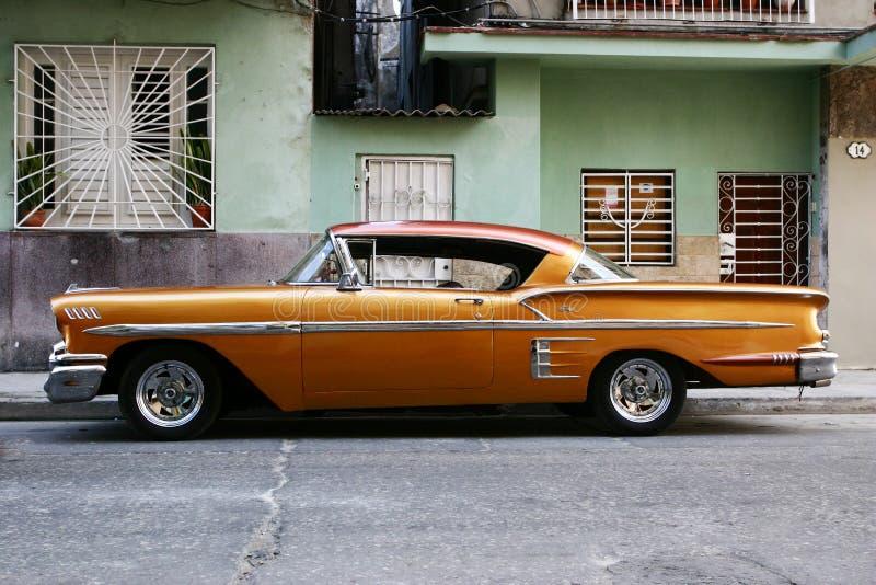 Εκλεκτής ποιότητας κουβανικό αυτοκίνητο στοκ φωτογραφία
