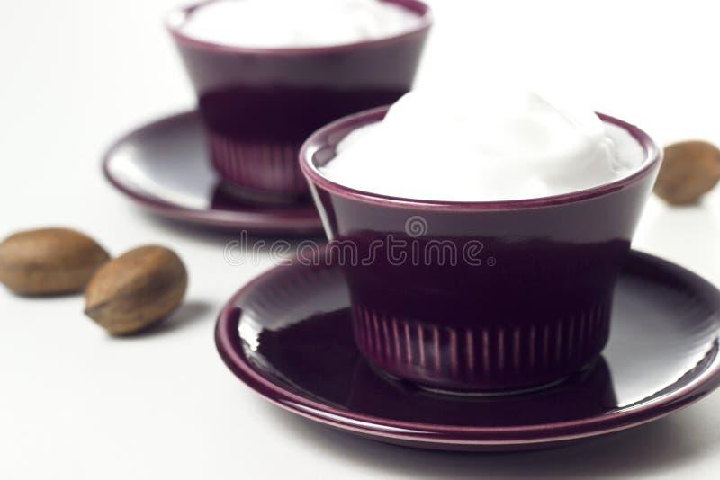 Εκλεκτής ποιότητας κρέμα στοκ φωτογραφία