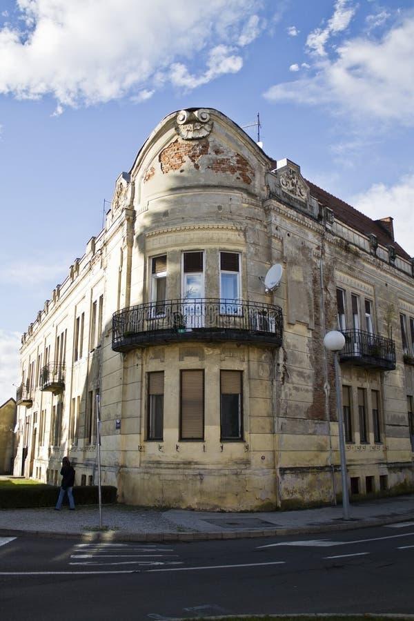 Εκλεκτής ποιότητας κτήριο στην Κροατία στοκ εικόνες