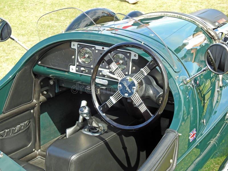 Εκλεκτής ποιότητας κλασικό αυτοκίνητο τρίτροχων του Morgan στοκ φωτογραφία