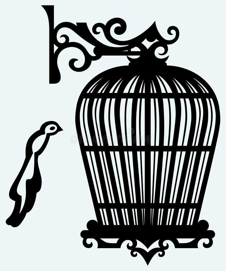 Εκλεκτής ποιότητας κλουβιά πουλιών ελεύθερη απεικόνιση δικαιώματος