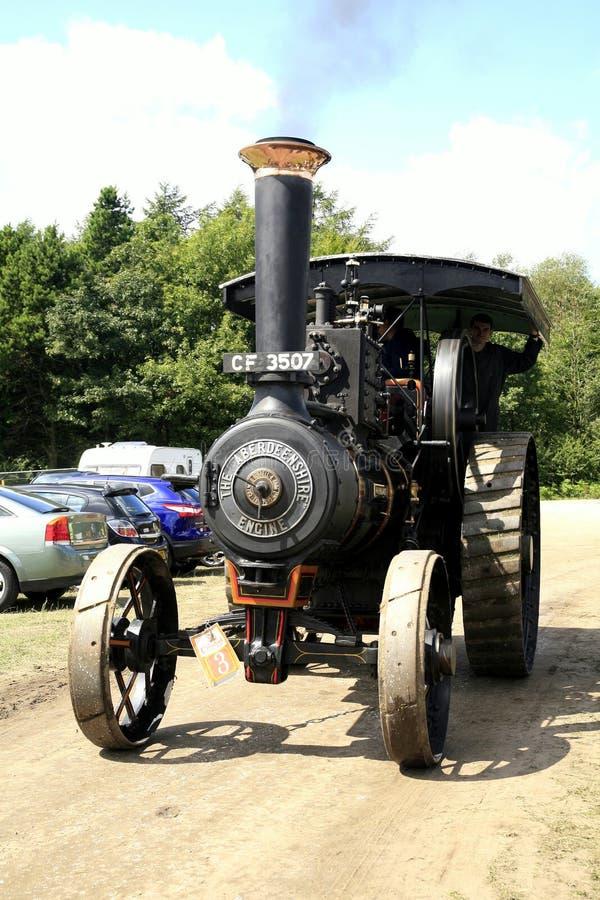 Εκλεκτής ποιότητας μηχανή ατμού burrell-Aberdeenshire του 1907 στοκ εικόνες με δικαίωμα ελεύθερης χρήσης