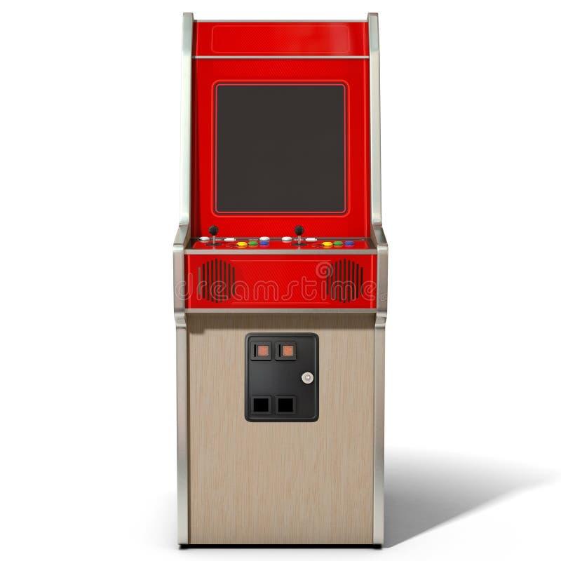 Εκλεκτής ποιότητας μηχανή arcade ελεύθερη απεικόνιση δικαιώματος