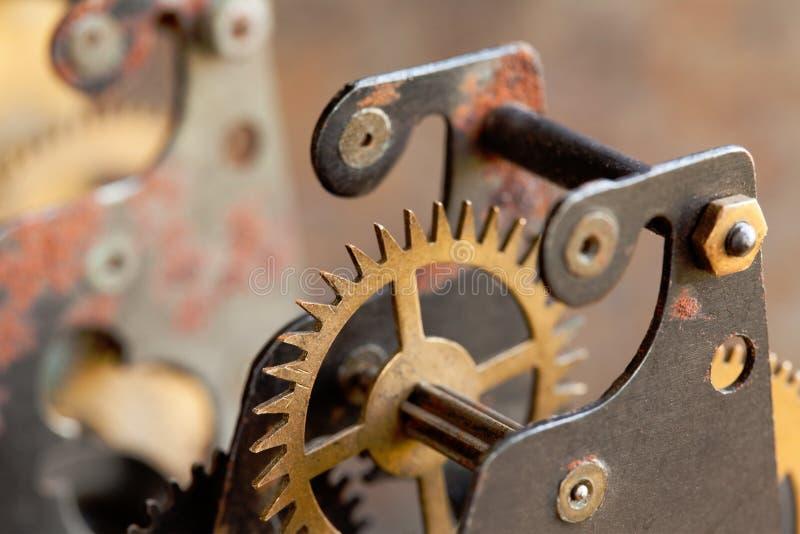 Εκλεκτής ποιότητας μηχανικό techology εργαλείων ροδών βαραίνω Ρηχός τομέας βάθους, εκλεκτική εστίαση στοκ φωτογραφία με δικαίωμα ελεύθερης χρήσης