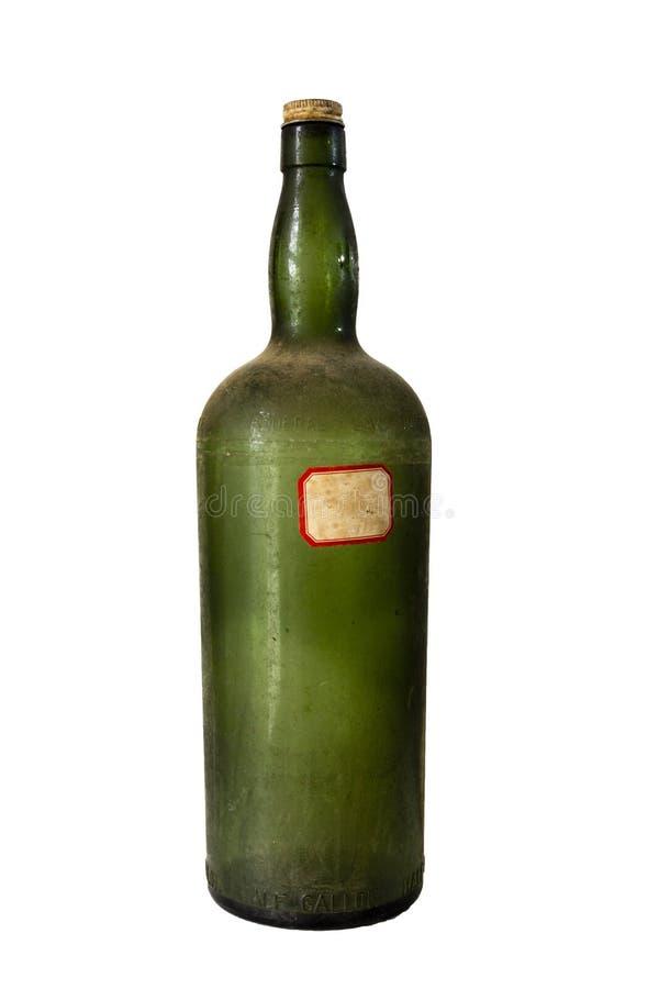 Εκλεκτής ποιότητας μπουκάλι στοκ εικόνες