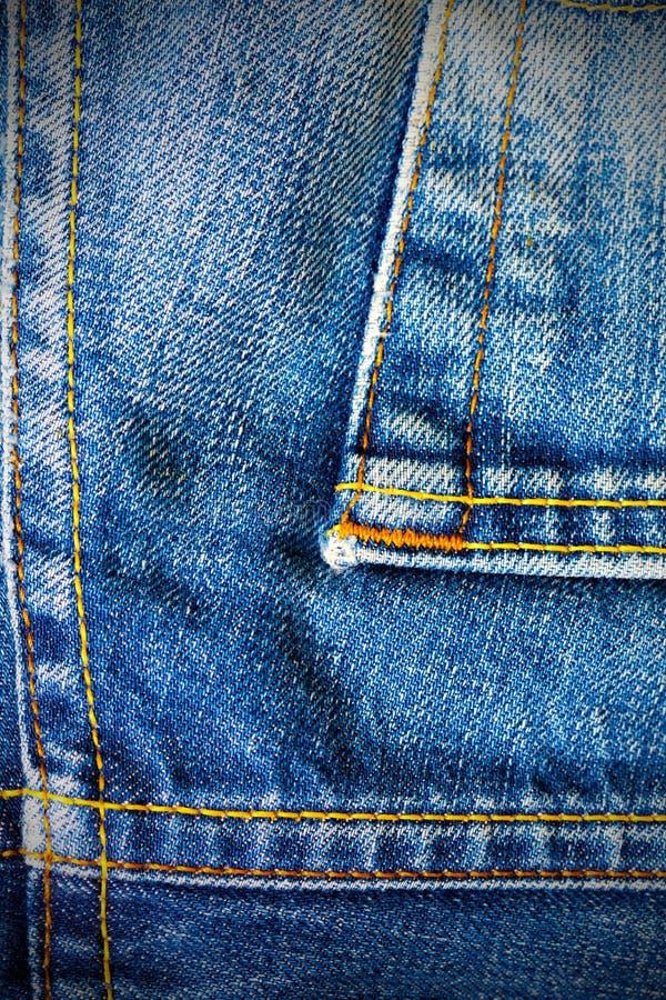 Εκλεκτής ποιότητας μπλε τζιν στοκ εικόνα με δικαίωμα ελεύθερης χρήσης