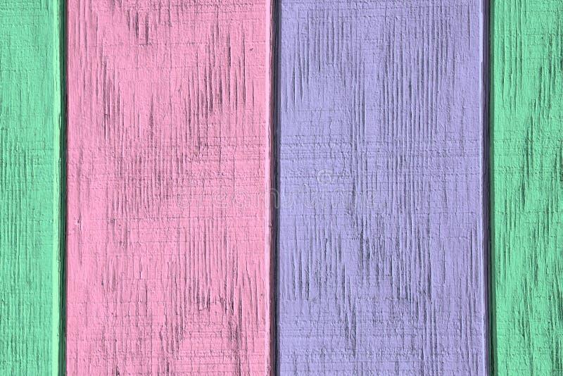 Εκλεκτής ποιότητας ξύλινες υπόβαθρο και σύσταση με το χρώμα αποφλοίωσης στοκ φωτογραφία