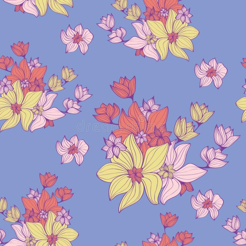 Εκλεκτής ποιότητας λουλούδια διανυσματική απεικόνιση
