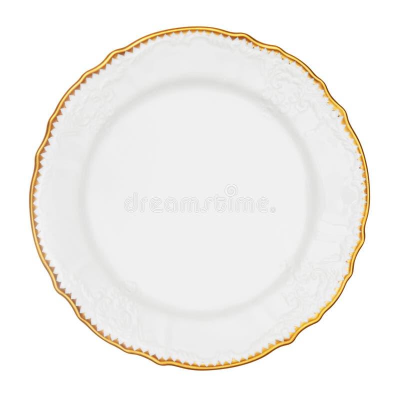 Εκλεκτής ποιότητας πιάτο στοκ εικόνα
