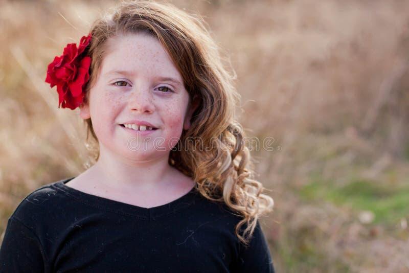 Εκλεκτής ποιότητας πορτρέτο κοριτσιών στοκ φωτογραφία