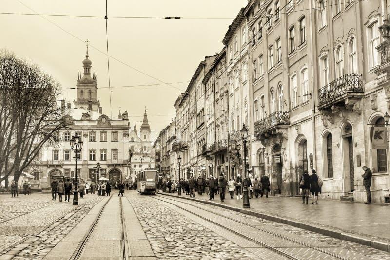 Εκλεκτής ποιότητας πόλη στοκ φωτογραφία με δικαίωμα ελεύθερης χρήσης