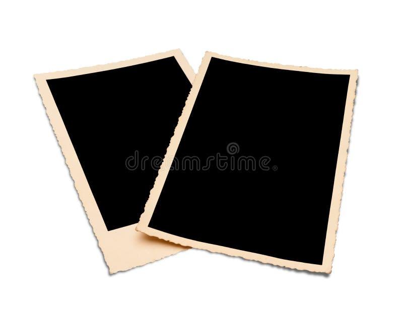 Εκλεκτής ποιότητας πλαίσια φωτογραφιών με την πορεία στοκ φωτογραφία με δικαίωμα ελεύθερης χρήσης