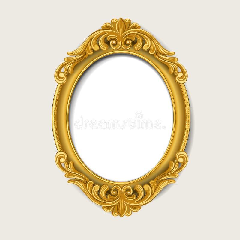 Εκλεκτής ποιότητας πλαίσιο εικόνων διανυσματική απεικόνιση