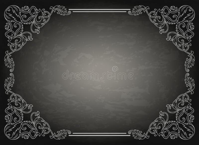 Εκλεκτής ποιότητας πλαίσιο διακοσμήσεων διανυσματική απεικόνιση