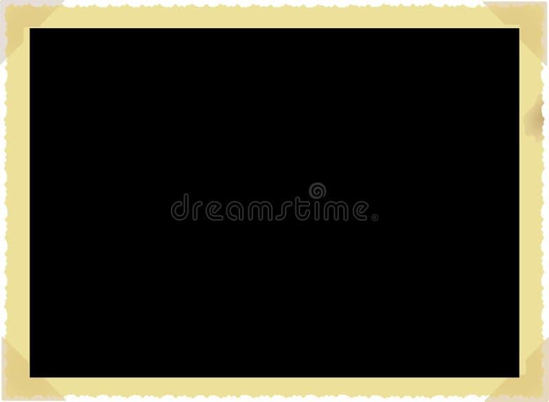Εκλεκτής ποιότητας πλαίσιο φωτογραφιών ελεύθερη απεικόνιση δικαιώματος