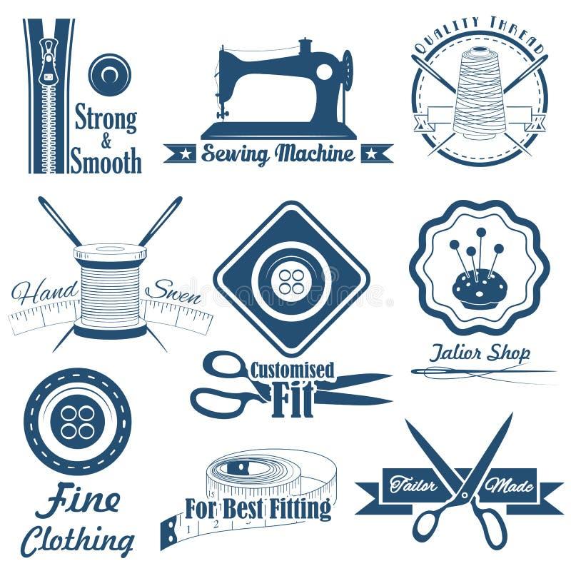 Εκλεκτής ποιότητας ράψιμο ύφους και ετικέτα ραφτών