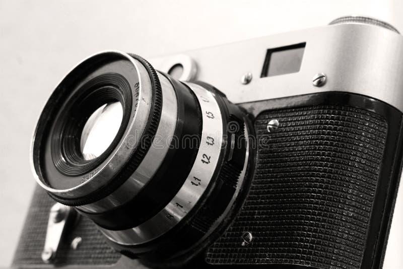Εκλεκτής ποιότητας ρωσική κάμερα στη σέπια στοκ εικόνες με δικαίωμα ελεύθερης χρήσης
