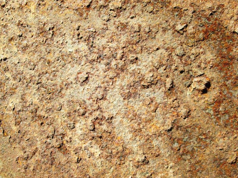 Εκλεκτής ποιότητας σκουριασμένο κατασκευασμένο υπόβαθρο σιδήρου grunge στοκ εικόνες με δικαίωμα ελεύθερης χρήσης