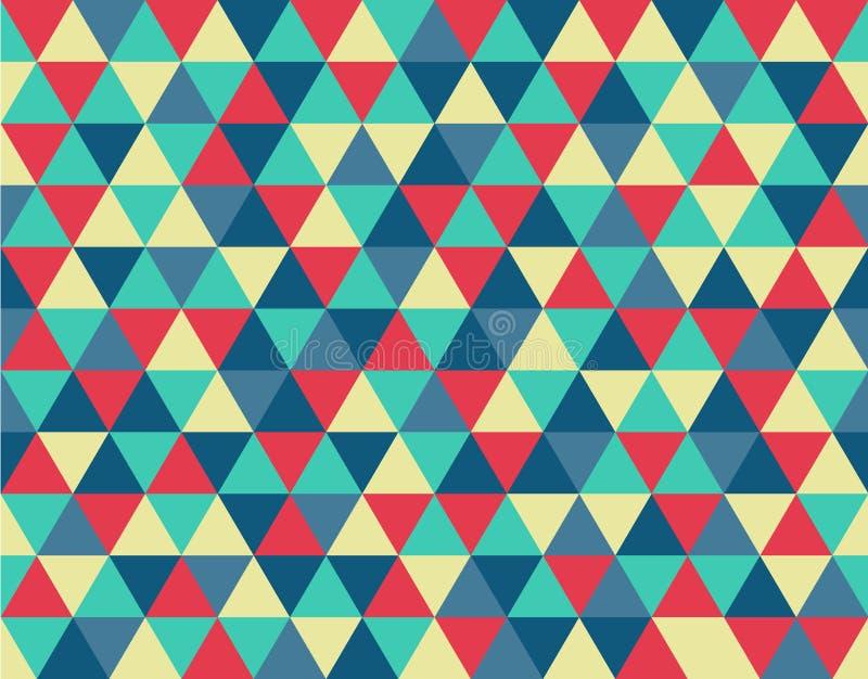 Εκλεκτής ποιότητας σχέδιο υποβάθρου τριγώνων ελεύθερη απεικόνιση δικαιώματος