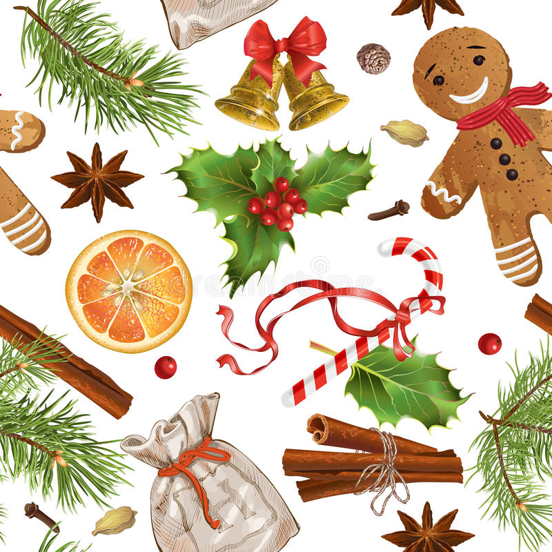 Εκλεκτής ποιότητας σχέδιο Χριστουγέννων διανυσματική απεικόνιση