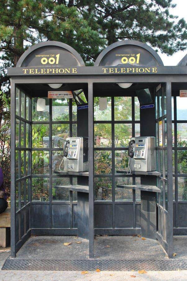 Εκλεκτής ποιότητας τηλεφωνικό κιβώτιο στοκ φωτογραφία με δικαίωμα ελεύθερης χρήσης