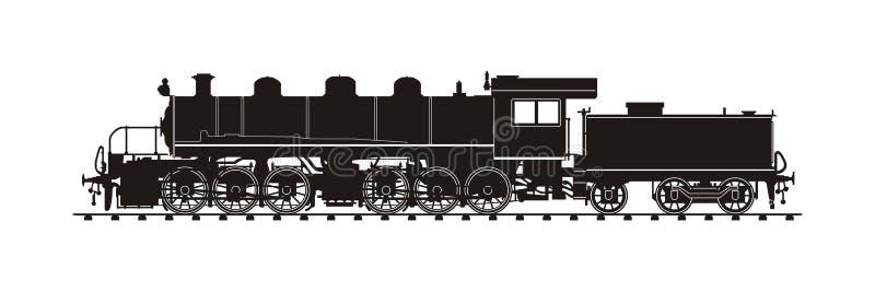 Εκλεκτής ποιότητας τραίνο διανυσματική απεικόνιση