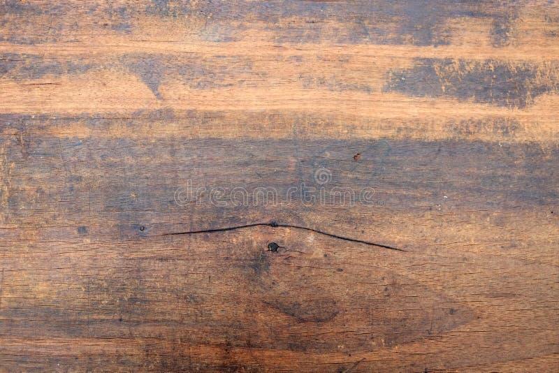 Εκλεκτής ποιότητας υπόβαθρο από την παλαιά καφετιά ξύλινη κινηματογράφηση σε πρώτο πλάνο μπροστινής άποψης σανίδων στοκ εικόνα με δικαίωμα ελεύθερης χρήσης