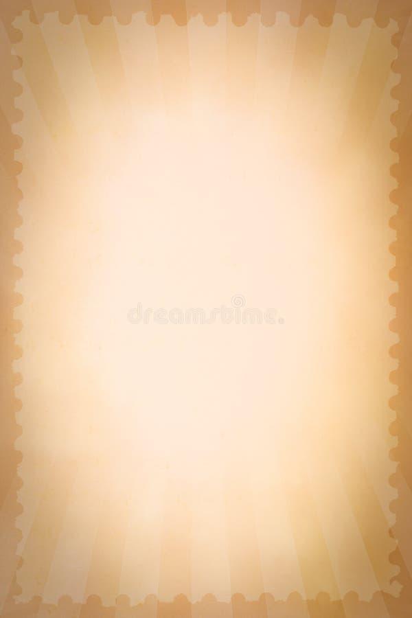 Εκλεκτής ποιότητας υπόβαθρο γραμματοσήμων τσίρκων στοκ εικόνα με δικαίωμα ελεύθερης χρήσης