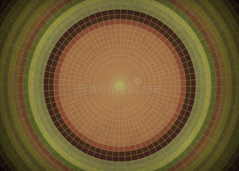Εκλεκτής ποιότητας υπόβαθρο κύκλων Grunge διανυσματική απεικόνιση