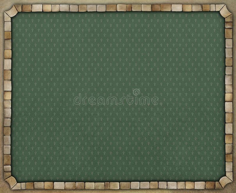 Εκλεκτής ποιότητας υπόβαθρο με το πλαίσιο πετρών απεικόνιση αποθεμάτων