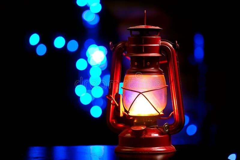 Εκλεκτής ποιότητας φανάρι πετρελαίου κηροζίνης στοκ εικόνες με δικαίωμα ελεύθερης χρήσης