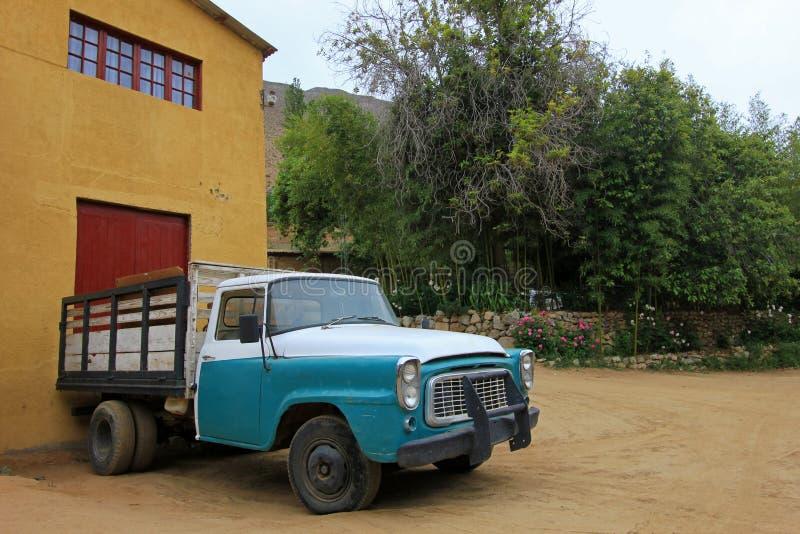 Εκλεκτής ποιότητας φορτηγό, κοιλάδα Elqui, Χιλή στοκ εικόνα με δικαίωμα ελεύθερης χρήσης