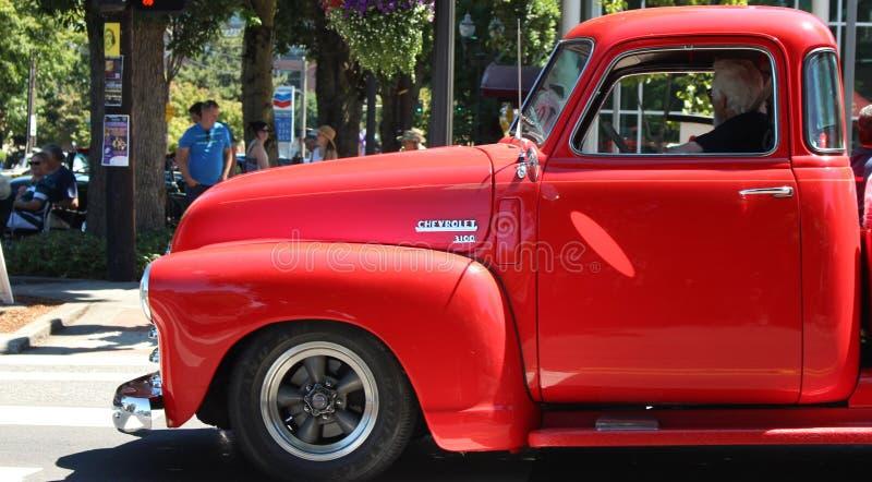 Εκλεκτής ποιότητας φορτηγό στοκ φωτογραφίες