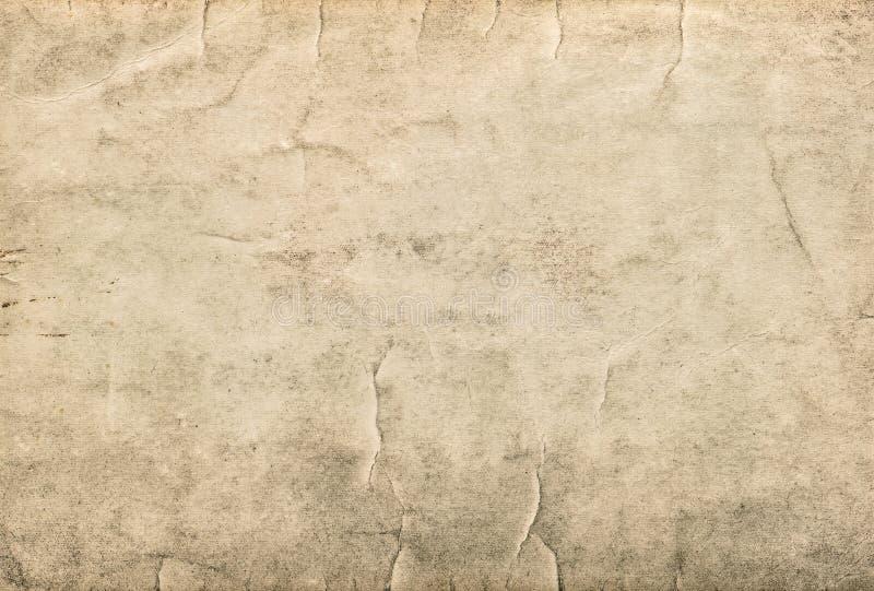 Εκλεκτής ποιότητας χαρτόνι Χρησιμοποιημένη λεκιασμένη σύσταση εγγράφου στοκ εικόνα