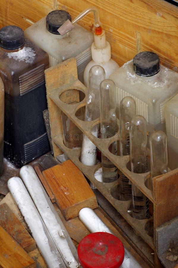 Εκλεκτής ποιότητας χημικές ουσίες στοκ εικόνες