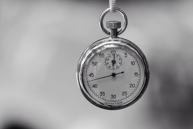 Εκλεκτής ποιότητας χρονόμετρο με διακόπτη στοκ φωτογραφία με δικαίωμα ελεύθερης χρήσης