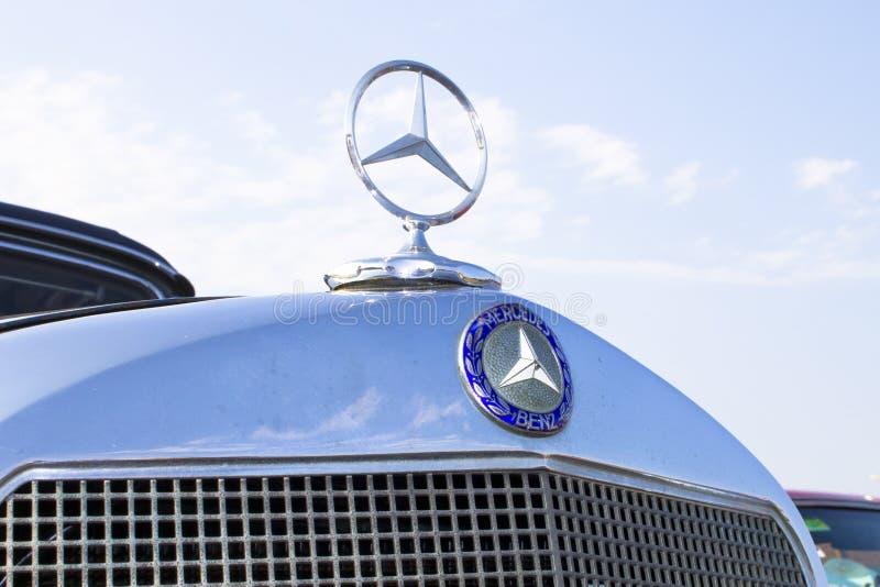 Εκλεκτής ποιότητας benz της Mercedes μέτωπο στοκ εικόνα