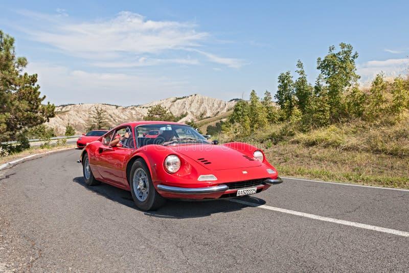 Εκλεκτής ποιότητας Ferrari Dino GT στοκ φωτογραφίες