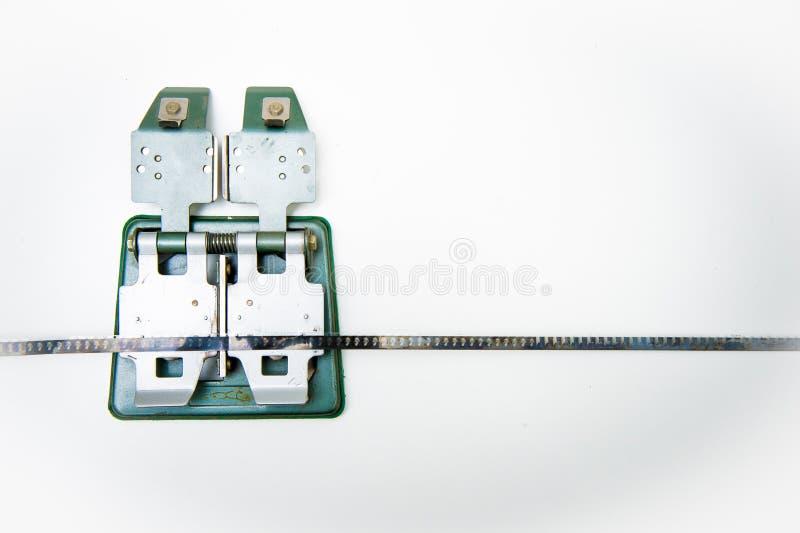 εκλεκτής ποιότητας splicer 8mm με την ταινία στοκ εικόνα