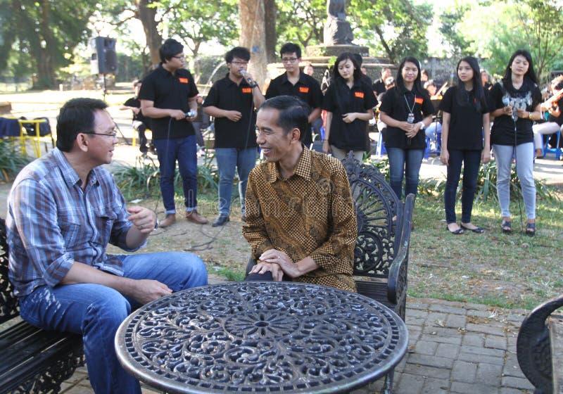 Εκλογή κυβερνητών της Τζακάρτα στοκ εικόνα