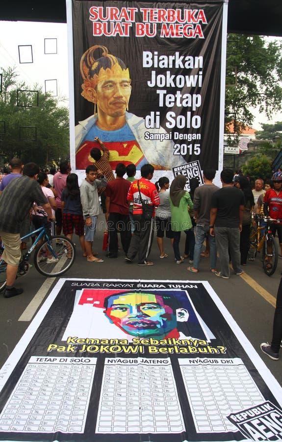 Εκλογή κυβερνητών της Τζακάρτα στοκ φωτογραφία με δικαίωμα ελεύθερης χρήσης