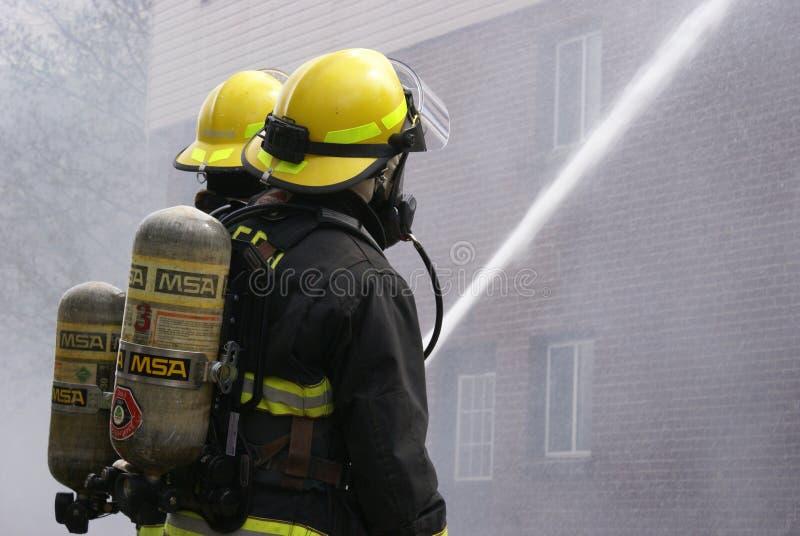 Εκδοτική πυρκαγιά πολυκατοικίας στοκ φωτογραφίες