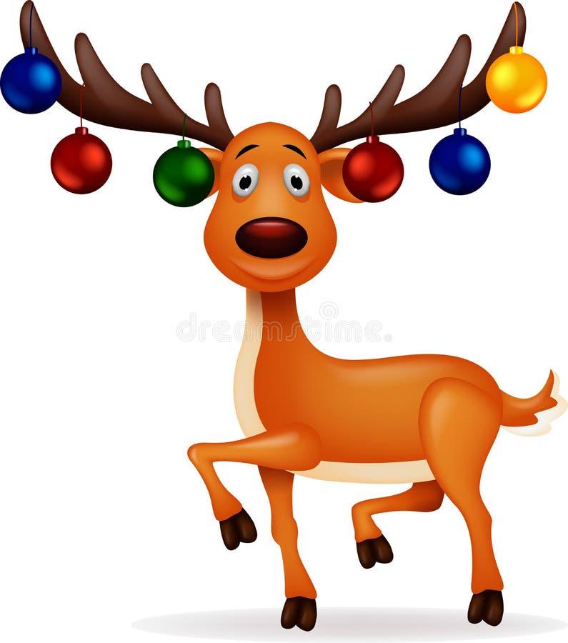 Ελάφια Rudolf ελεύθερη απεικόνιση δικαιώματος