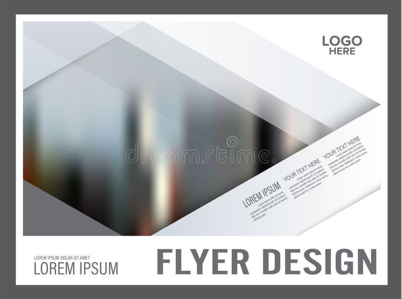 Ελάχιστο πρότυπο σχεδίου σχεδιαγράμματος φυλλάδιων _ απεικόνιση αποθεμάτων