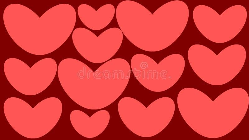 ελέγξτε την εικόνα καρδιών οι παρόμοιες αυτοκόλλητες ετικέττες χαρτοφυλακίων μου διανυσματική απεικόνιση