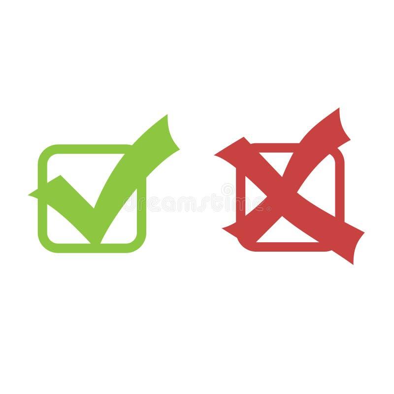 ελέγξτε το διάνυσμα σημα&d απεικόνιση αποθεμάτων