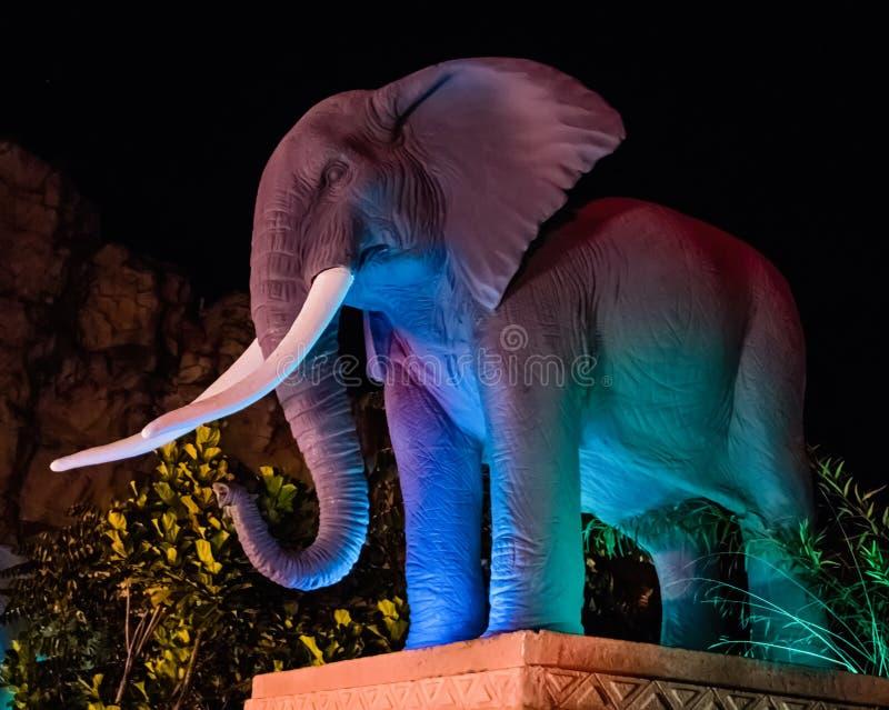 Ελέφαντας γεφυρών Suncity στοκ φωτογραφία με δικαίωμα ελεύθερης χρήσης