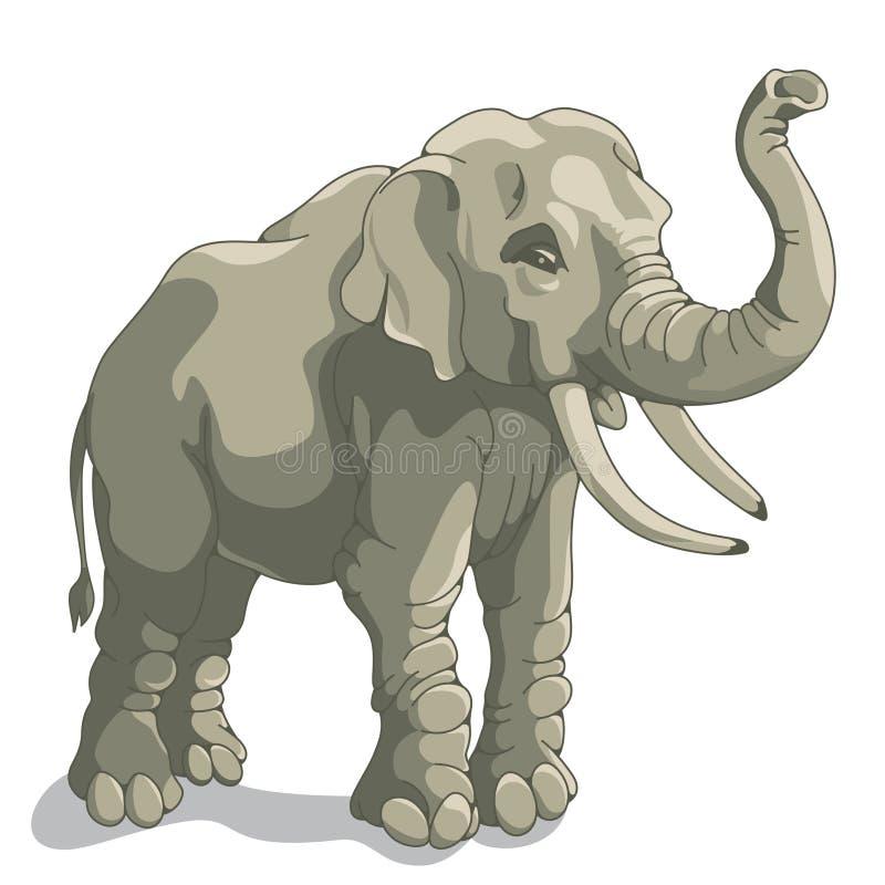 Ελέφαντας διανυσματική απεικόνιση